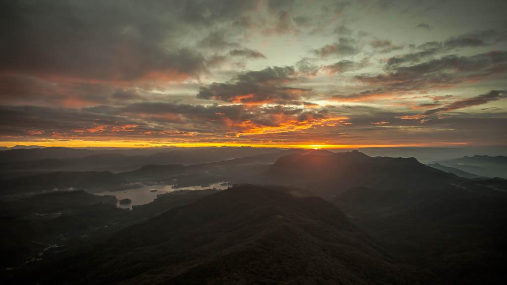 Sunrise at Adam's Peak
