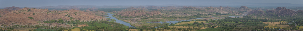 View over Hampi