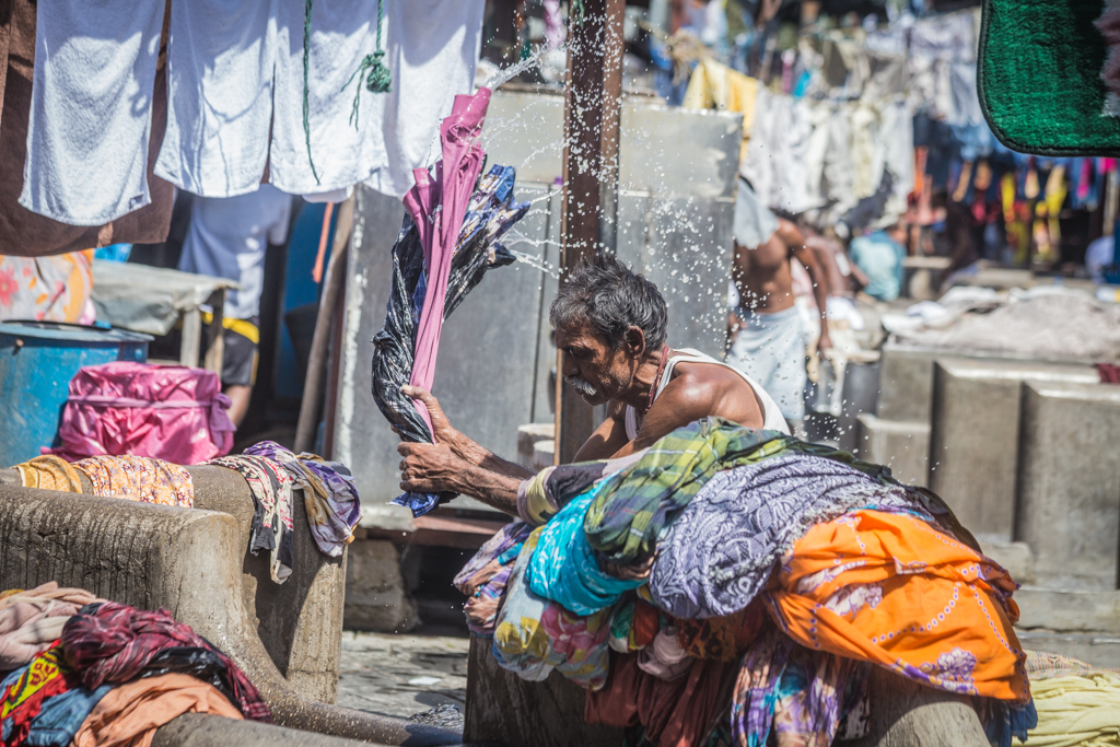 Dhobi Ghat is the worlds largest open air laundry