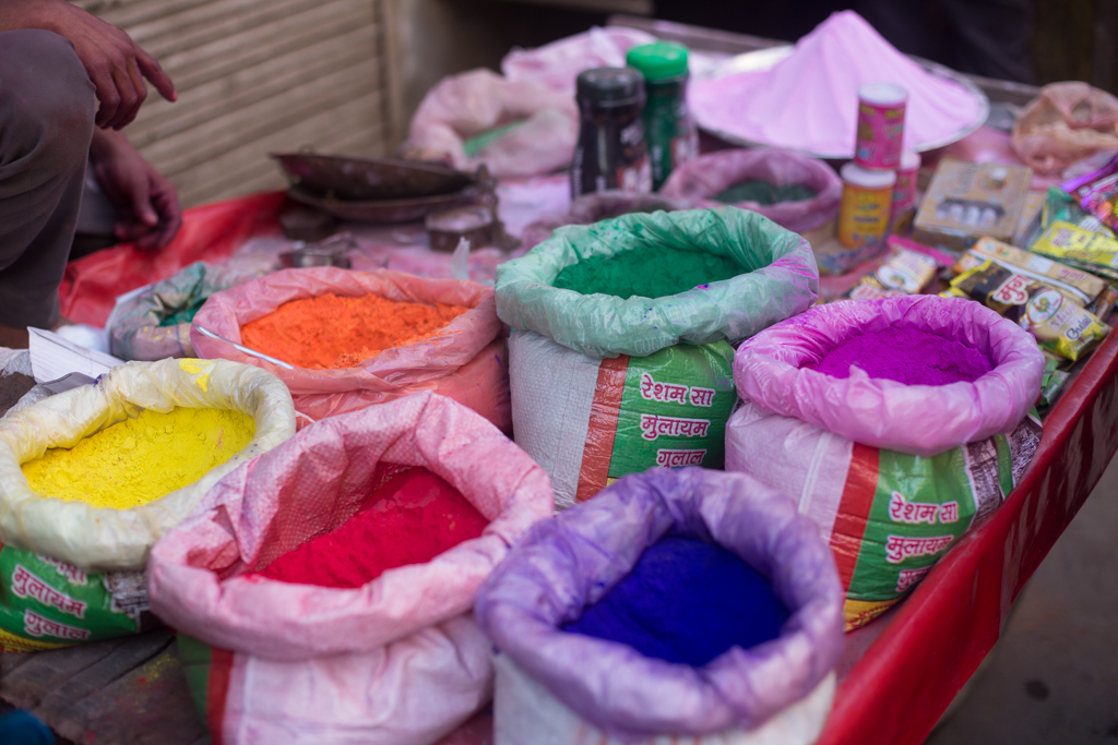 Abir - the colored powder